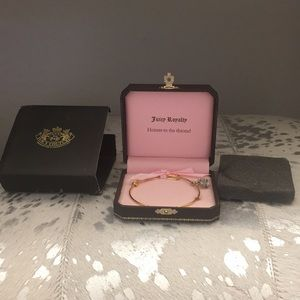 NWT Juicy Couture Crown Wish Bangle